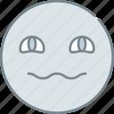 emoji, emotion, emotional, face, rolling icon