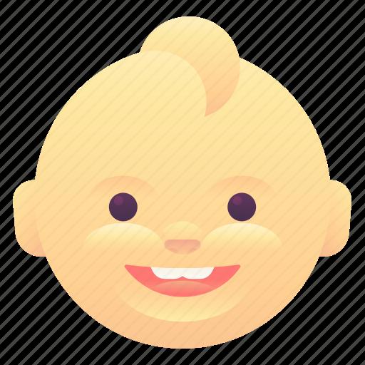 baby, emoji, emoticon, smiley icon