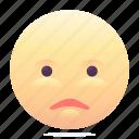 emoji, emoticon, shocked, smiley icon