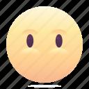 emoji, emoticon, smiley, speechless