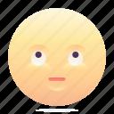 emoji, emoticon, eye roll, smiley icon