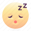 emoji, emoticon, smiley, tired icon
