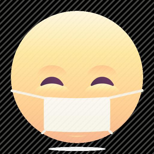 emoji, emoticon, sick, smiley icon