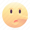 emoji, emoticon, liar, smiley icon