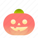 emoji, emoticon, pumpkin, smiley icon