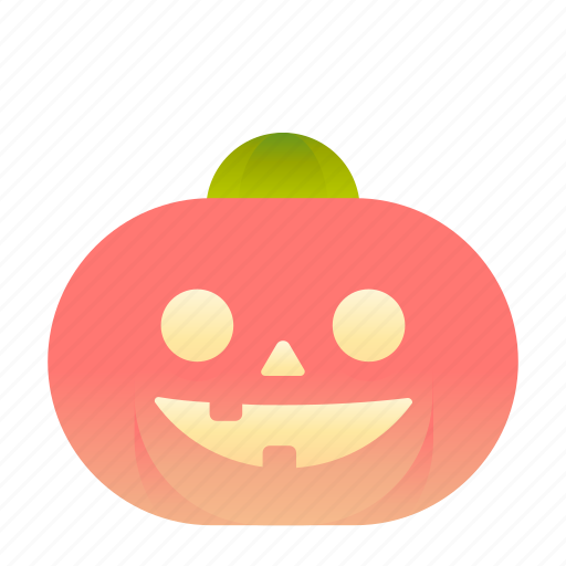 emoji, emoticon, pumpkin, smiley icon