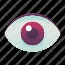 emoji, emoticon, eye, smiley