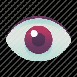 emoji, emoticon, eye, smiley icon