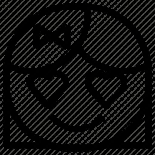 emoticon, girl, love icon