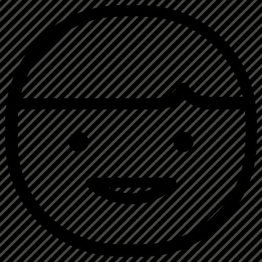 boy, emoticon, smile icon