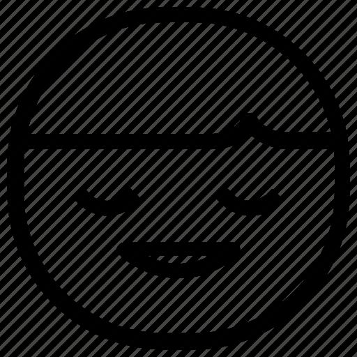 boy, emoticon, happy icon