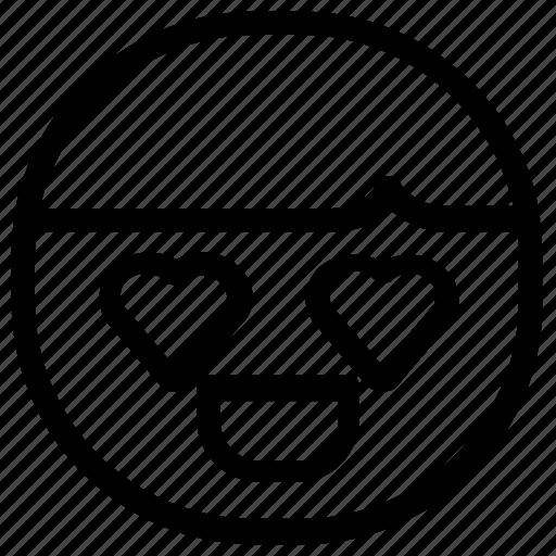 boy, emoticon, love icon