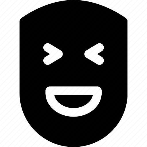 emotion, face, fun, happy, human, laugh, smile icon