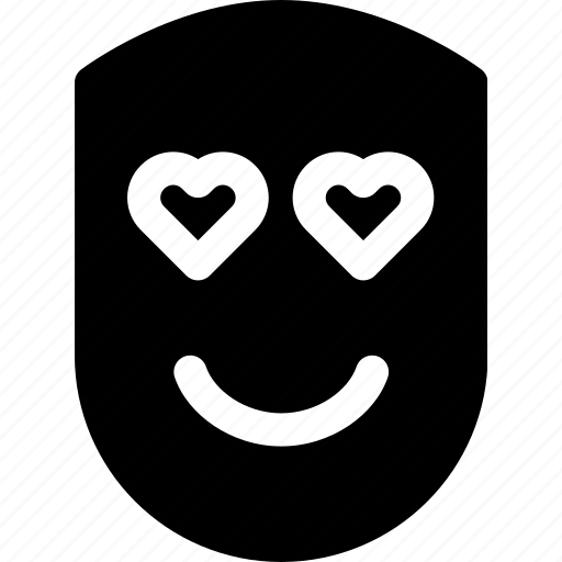 emotion, face, happy, human, love, smile icon