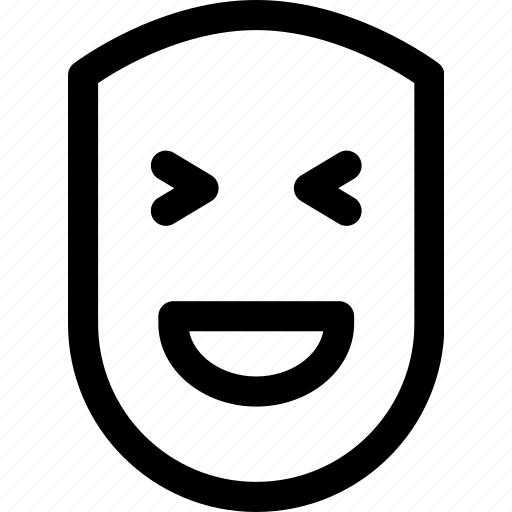 Emotion, face, fun, happy, human, laugh, smile icon - Download on Iconfinder