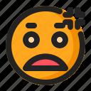 annoyed, disappointed, emoji, emoticon