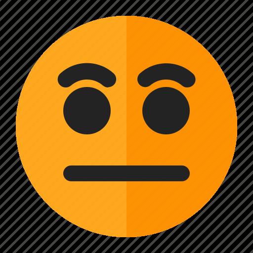 emoji, emoticon, silent icon