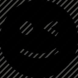 blink, blinking, eye icon