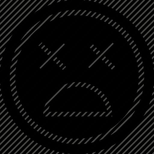 alive, avatar, dead, face icon