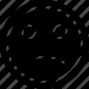 emoji, face, sadness icon