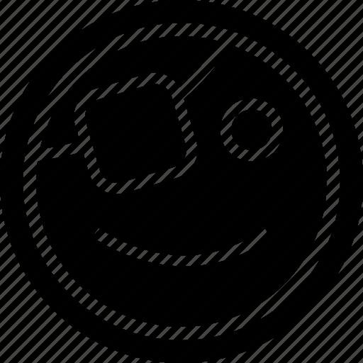 emotion, face, smile icon