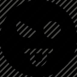 evil, eye, face icon
