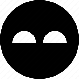 evil, face, hiding icon