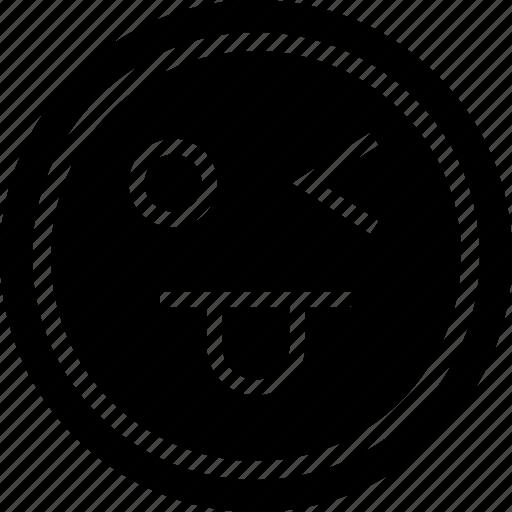 emoji, emotion, goofy icon