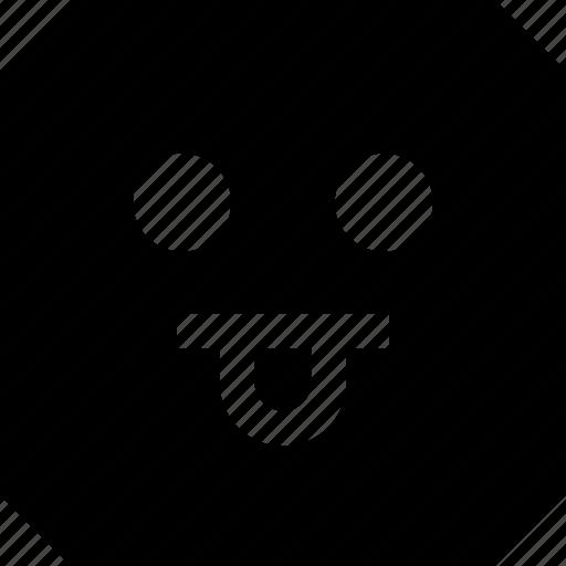 emoji, goofy, tongue icon