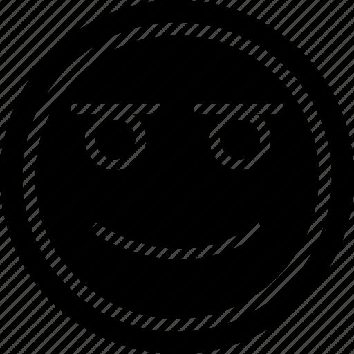 emoji, happiness, smile icon