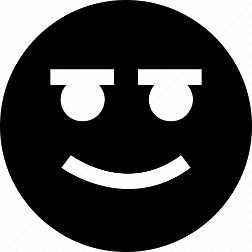 big, face, happy, huge icon