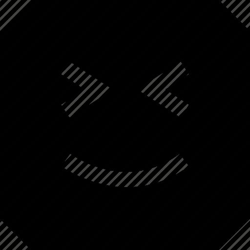 emoji, express, face, happy icon