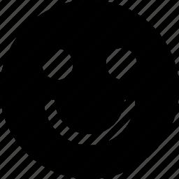 big, face, huge, smile icon