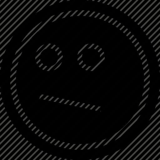 emoji, emotion, looking icon