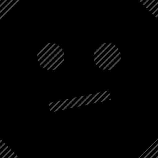 emoji, impressed, not icon