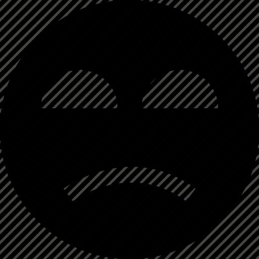 angry, emotion, sad icon