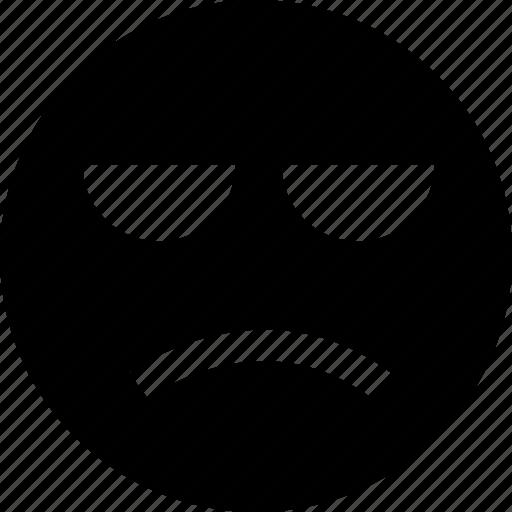 bored, emotion, sad icon