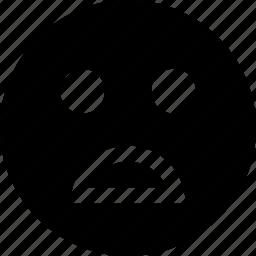 face, good, not, sad icon