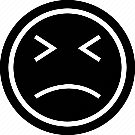 emoji, lost, sadness icon