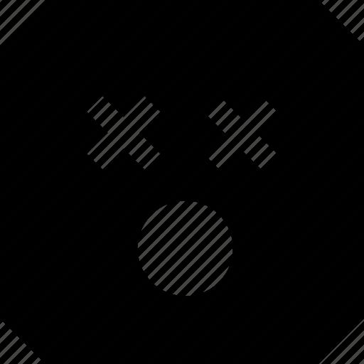 emoji, eyes, shocked icon