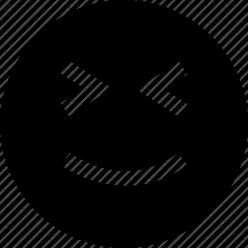 evil, face, plan, smile icon