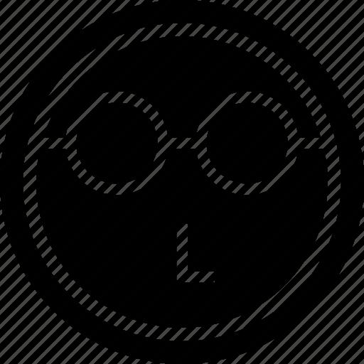 emoji, emotion, face, think icon