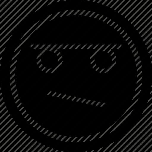 emoji, emotion, thinker icon