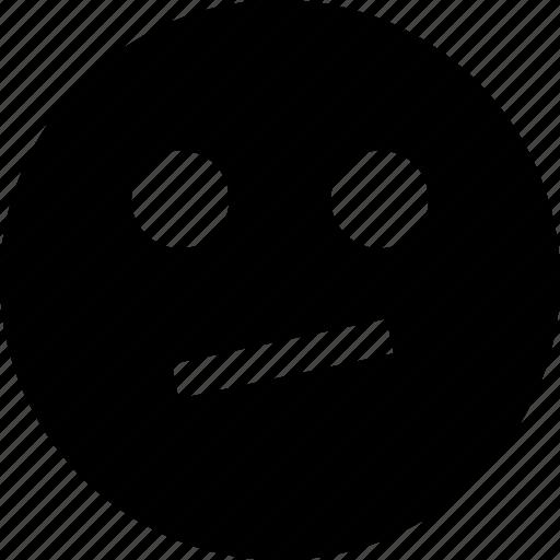 face, think, thinking icon