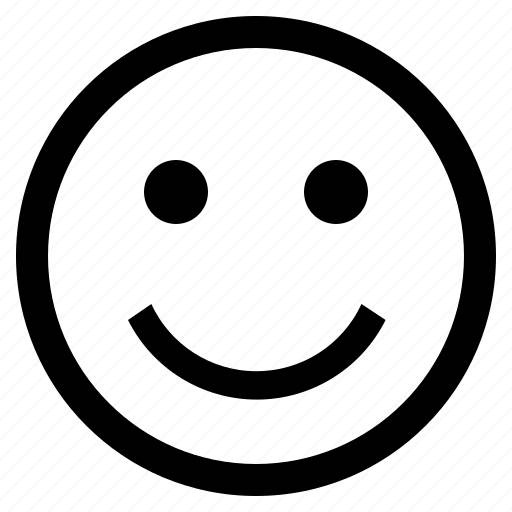 emoji, emoticon, emotion, expression, face, feeling, smiling face icon