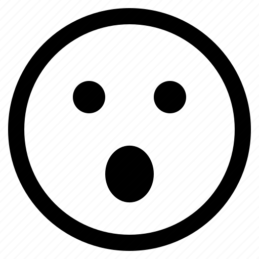 anguished face, emoji, emoticon, emotion, expression, face, feeling icon