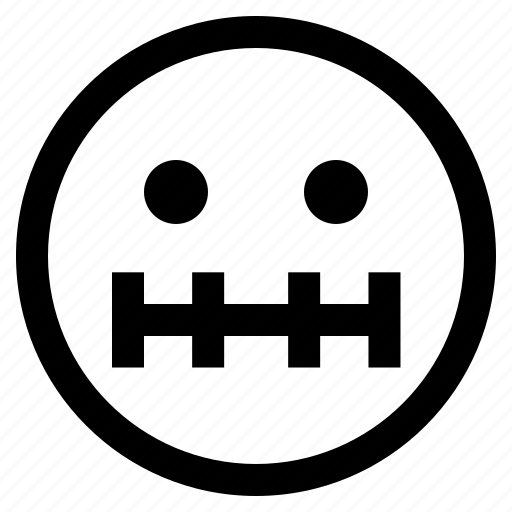 emoji, emoticon, emotion, expression, face, feeling, sick face icon