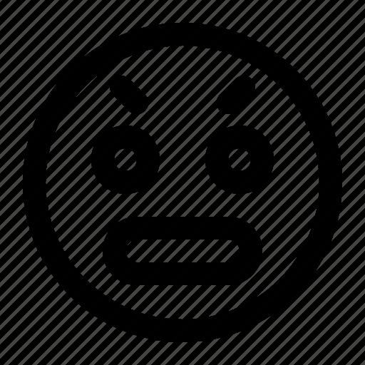 Emoji, emoticon, surprised icon - Download on Iconfinder