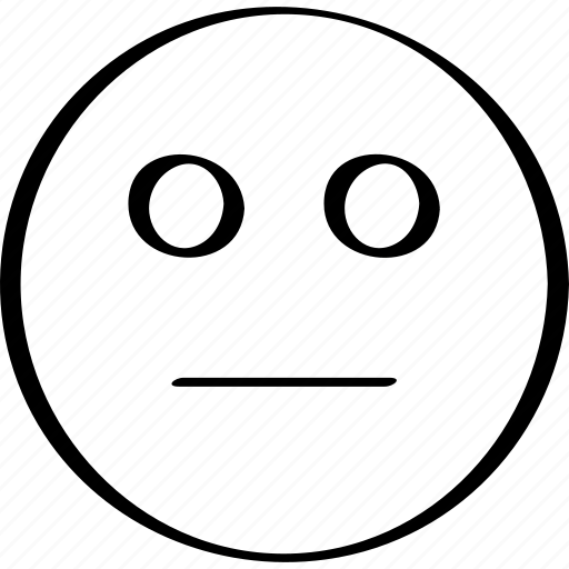 emoji, emotion, expression, staring icon