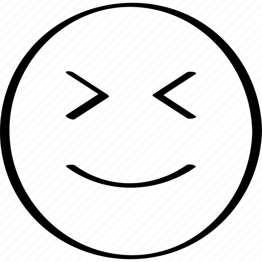 emoji, expression, face, happy, winking icon
